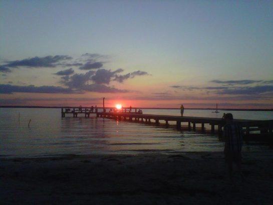 A Bayside Sunset