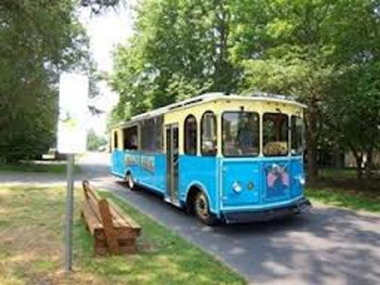 Bethany Trolley has stops in Bethany West and brings you to the beach for 25 cents!