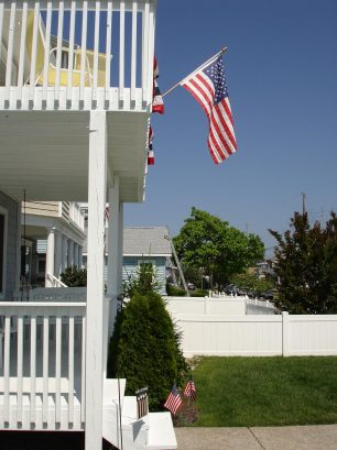 Front decks on both floors! Gets morning sun and evening shade!