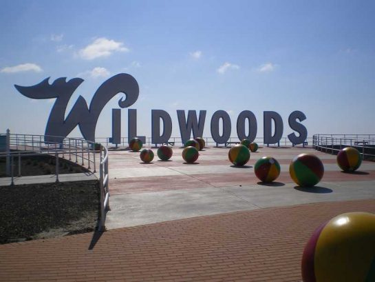 Welcome To North Wildwood! Great Place To Take A Picture!
