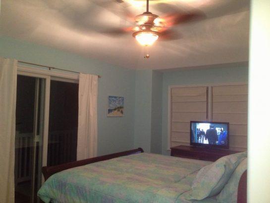 Slider off Master Bedroom to over sized deck.