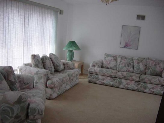 Master suite 3rd Level with Queen sofa bed