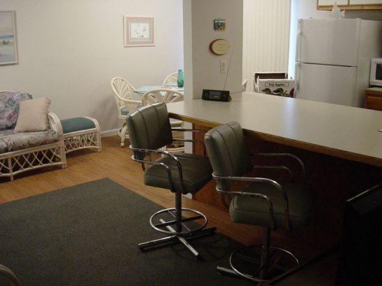 1st Floor Counter + Sofa area