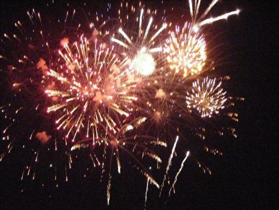 Friday Fireworks From Balcony.