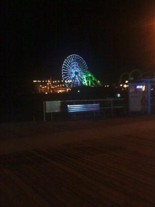 Nightime On The Boardwalk.