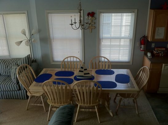 Large Dining Table. Dine With Your Family In Comfort.
