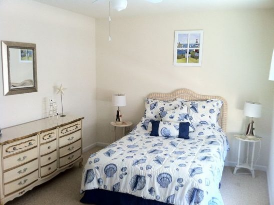 Bedroom Two With Double Bed And Room To Spare