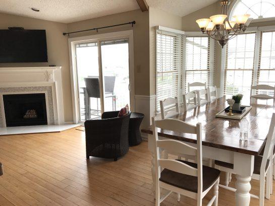 Dining room on second floor