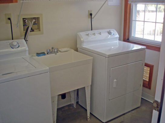 Dedicated Laundry Room with W/D