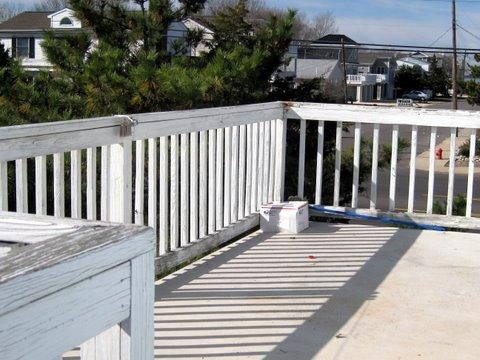 2nd Floor Deck Looking toward Barnaget Bay Beach