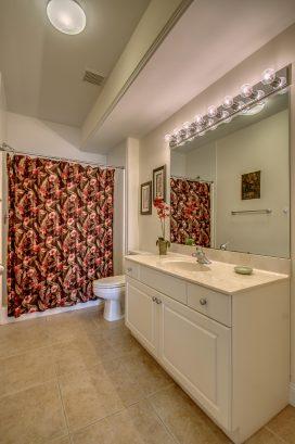 Bathroom for Master Bedroom (front)