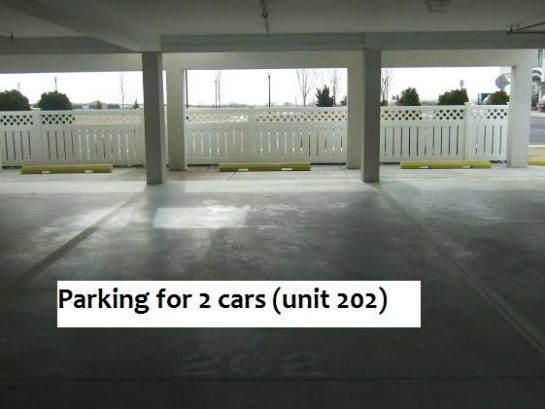 Parking for 2 cars