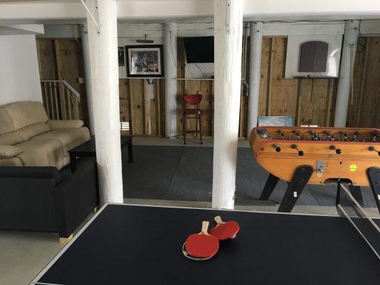 garage recreation room