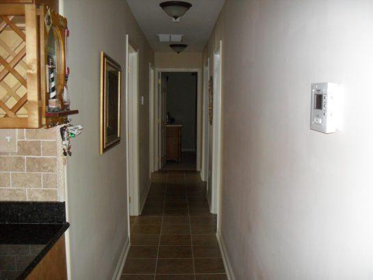 Hallway To Bathroom & Bedrooms