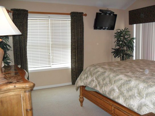 Master Bedroom/With Sliders To Large Deck
