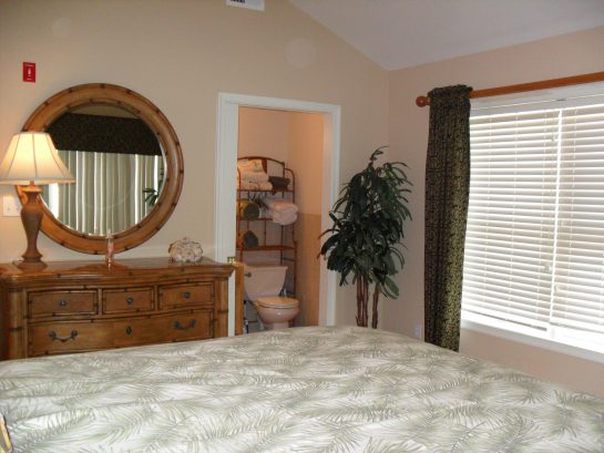 Master Bedroom & Bath With Shower