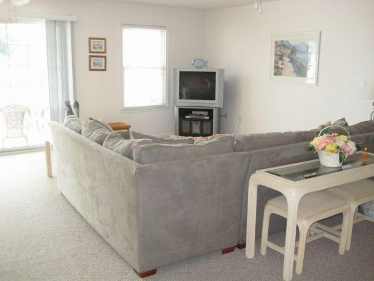 Sectional Sofa/Bed with TV, DVD, and Stereo