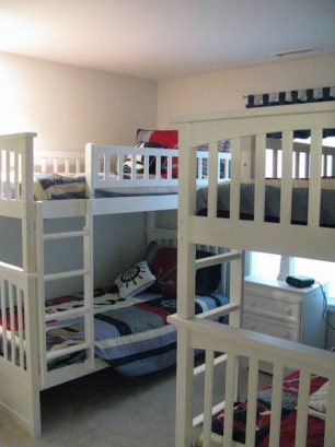 Third Br W/ 2 Double Bunks