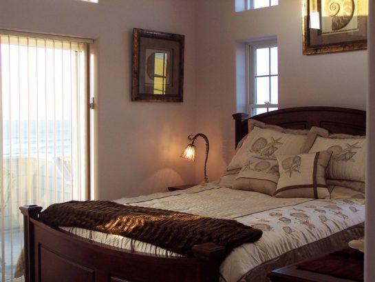 Ocean/waterfront Master Bedroom On 2nd Floor W Full Bath, Deck