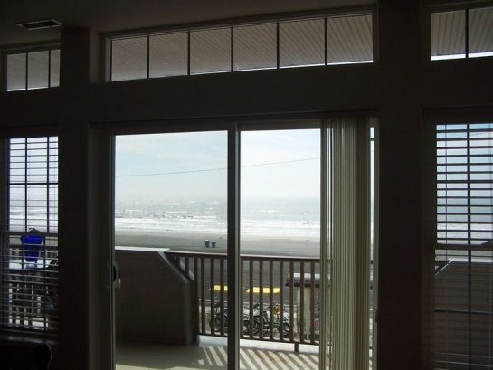 Master Bed View: Oceanfront Balcony