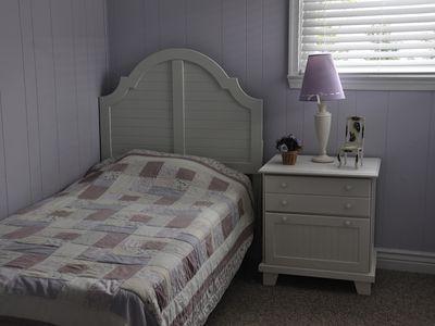 Bedroom #1 - 1st Floor  Single Bedroom