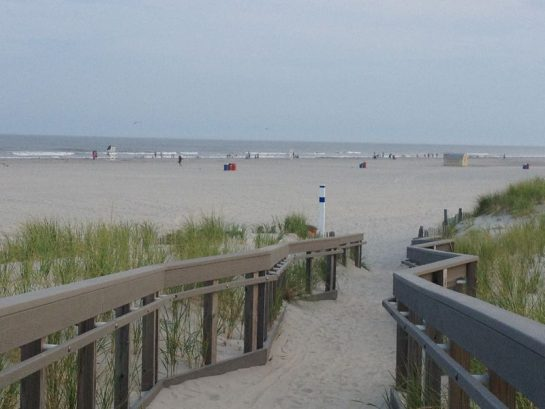 Gorgeous North Wildwood Beach At 15th