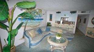 Ocean Front 2 bedroom condo unit 1C