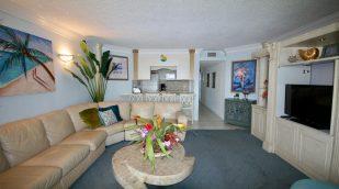 Fabulous Ocean Front 2 bedroom condo