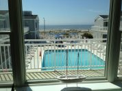 OCEAN 17 Beach Front Condo with Heated Pool~~Beautiful View of Beach~~Ocean City, NJ