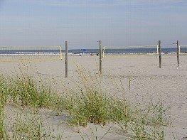 volly ball beach