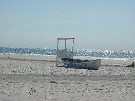 life gaurd at this beach