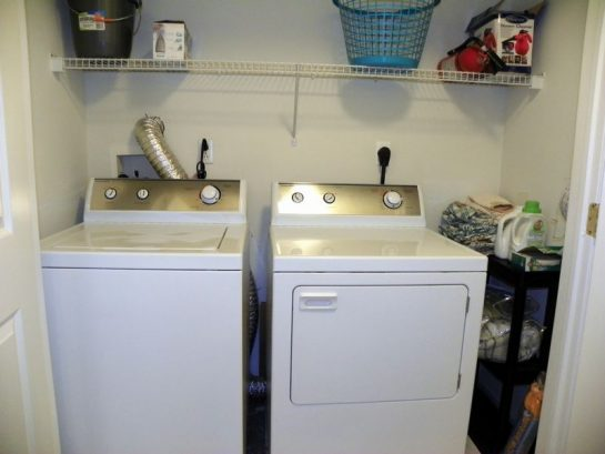 Full Washer And Dryer In Laundry Room