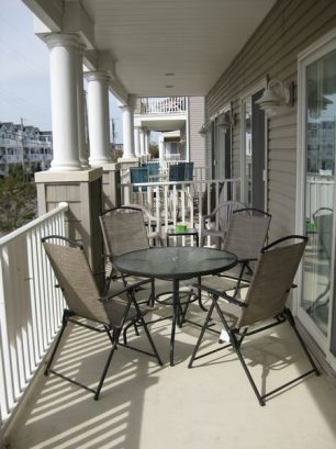 Enjoy An Ice Cold Drink On The Deck Of Our Beautiful First Floor