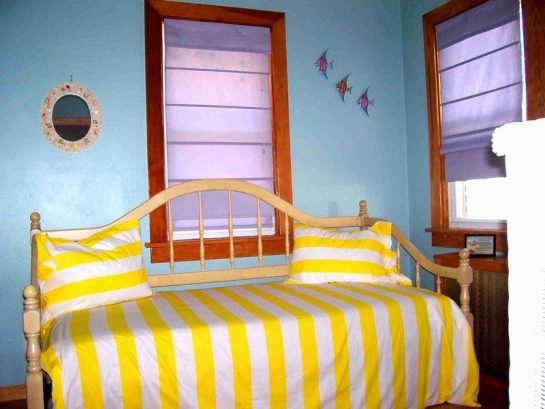 Bedroom #1 with trundle bed