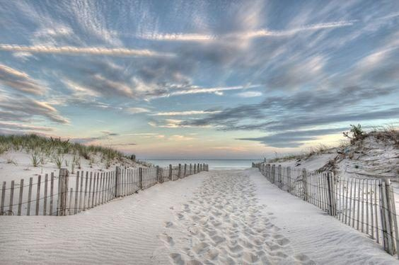Seaside Park Beach sunset