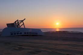 Seaside Park Beach sunrise