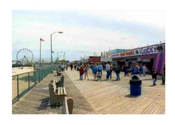Seaside's rides and attractions
