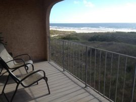 Direct Oceanfront with 4 decks and large gated patio in heart of Brigantine!