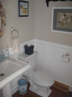 2nd Floor half bath