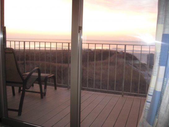 Morninf sunrise from Master bedroom