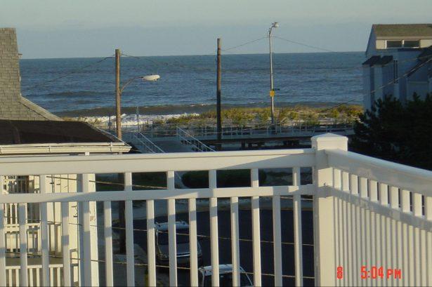 View of the Ocean & Boardwalk from 3rd Floor Deck