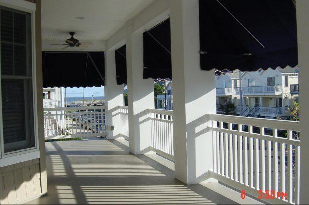 Fiberglass Decked Wrap Around Porch