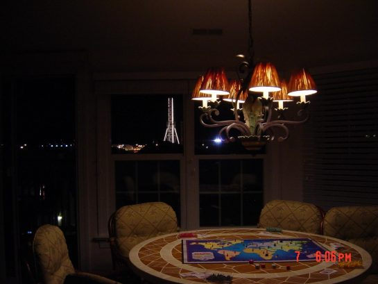 3rd FL FR Game Table view of Rides