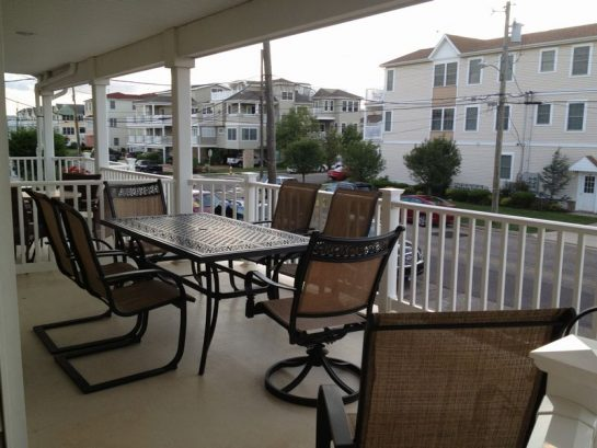 Sit On The Deck And Enjoy The Cool Ocean Breeze
