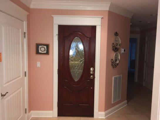 inside entry & elevator