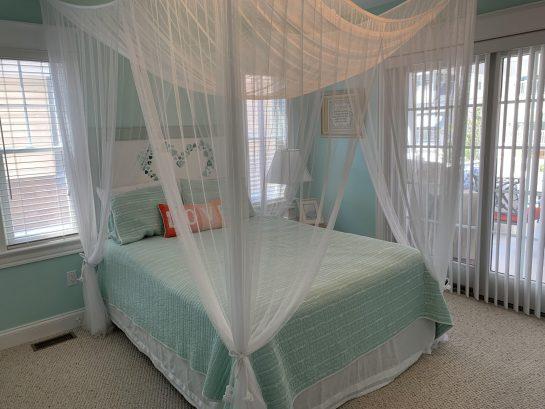 3rd queen bedroom nestled behind a secret door
