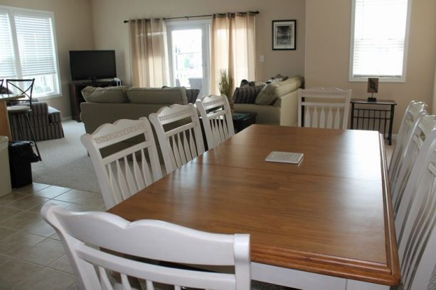 Dining Area Is Perfect For Meals, Snacks Or Game Night!