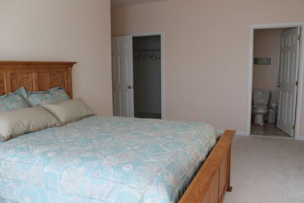 Master Suite Has A Private Bath And Walk-in Closet.