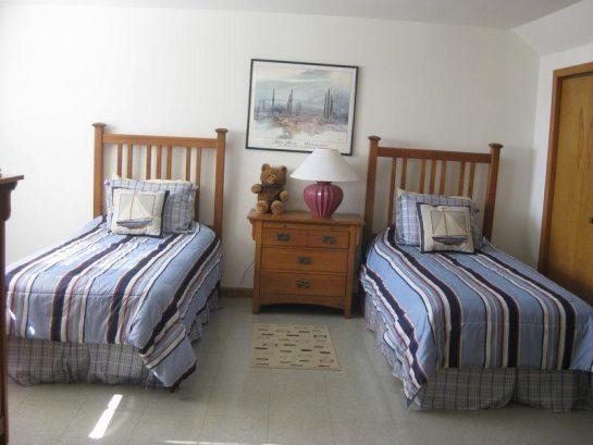 Second Floor Twin-Bedded Bedroom