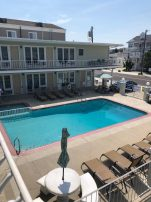 North Wildwood beach block condo. Ocean view. 1 Bedroom 1 Bathroom